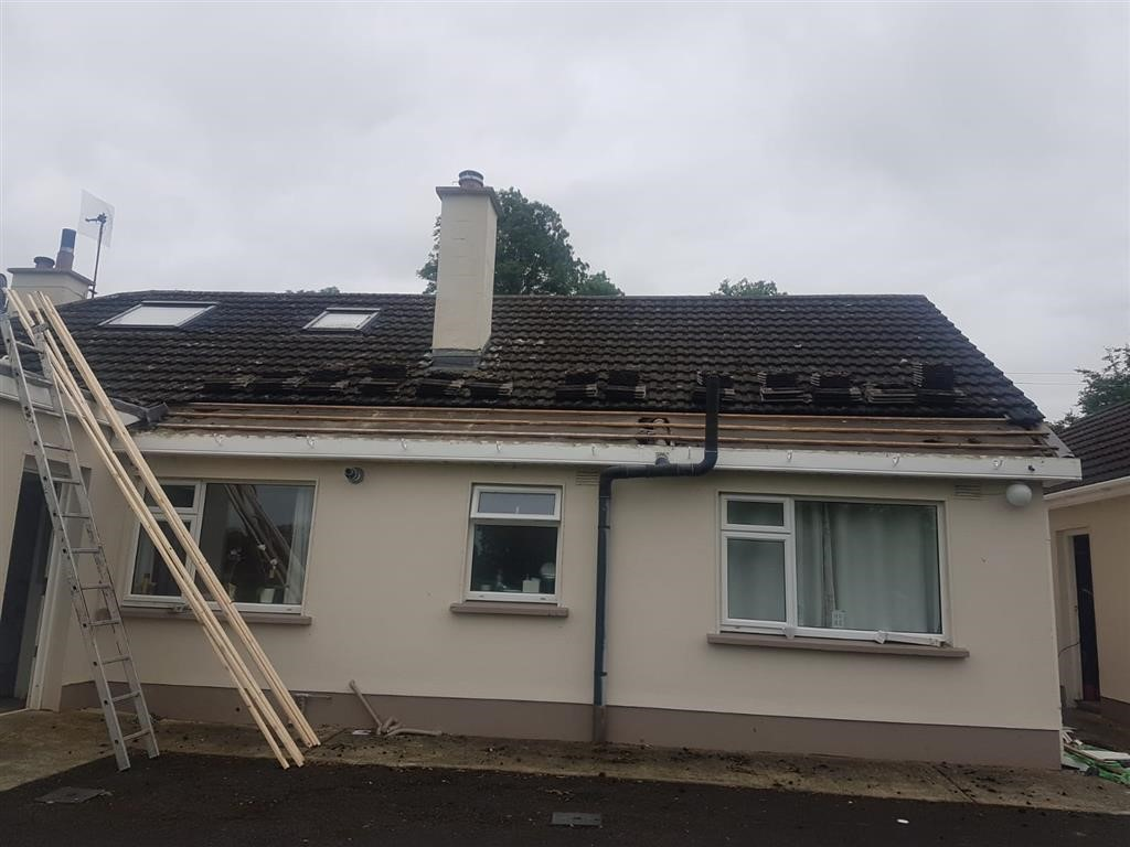 Roof Repairs in Ballysax, Co. Kildare